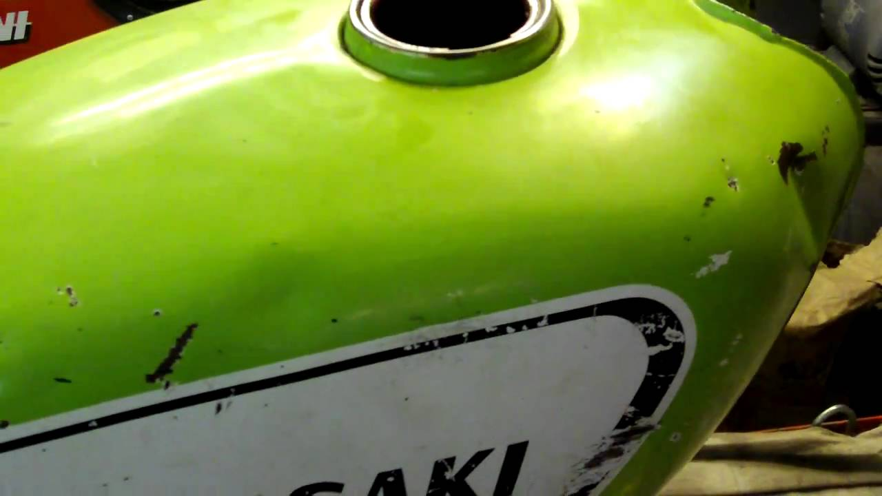 Oakys Garage Motorcycle Gas Tank Re Line Liner Seal F81e Kawasaki You