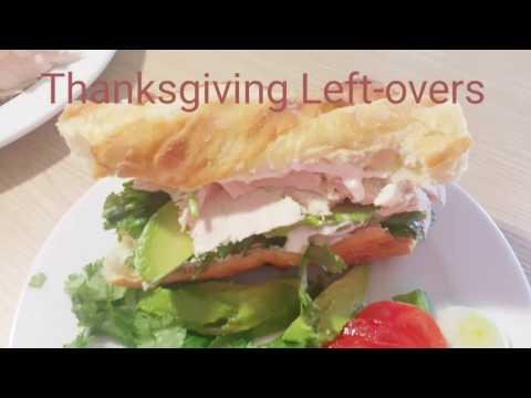 Thanksgiving Leftovers Recipe | Turkey Sandwich | Healthy Recipe