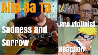 Alip Ba Ta, Sadness and Sorrow, Pro Violinist Reaction