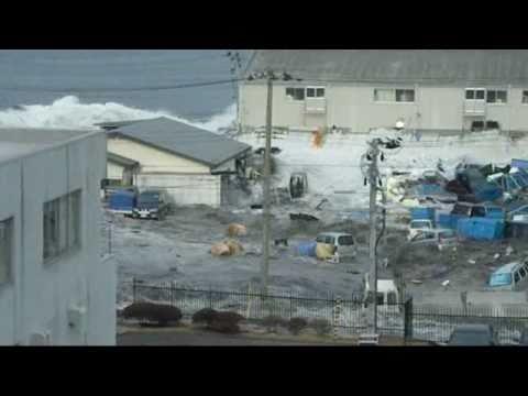 個人撮影 3月11日15時20分津波第1波到達釜石市大平町4丁目