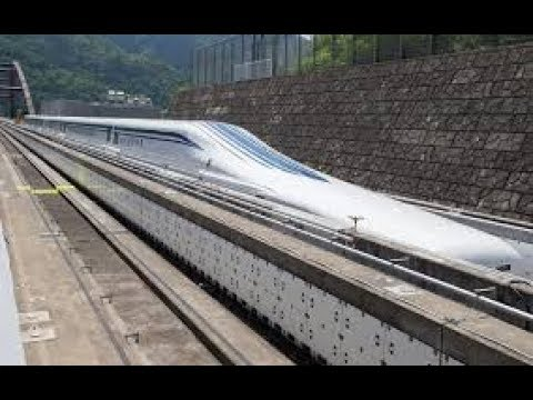 Super Fast Japan Bullet Train Goes At Max Speed Of 700 Km H