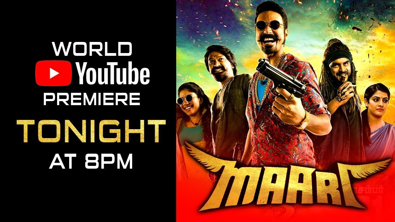 Maari (Maari 2)| Releasing Tonight 8 PM | Dhanush, Sai Pallavi, Krishna Kulasekaran Watch Online & Download Free