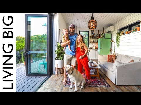 Television Show Interior Designer's Own Colourful Tiny House