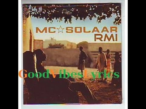 Mc Solaar - RMI Paroles