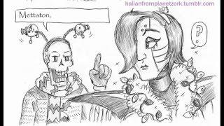 Undertale Comic Dubs: A Very Papyton Friskmas