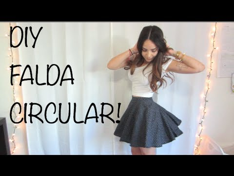 DIY - FALDA CIRCULAR! from YouTube · Duration:  5 minutes 53 seconds