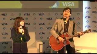 GS Xoay hát cùng sinh viên