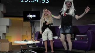 Cross Dressing Challenge | Fleur De Force & Myles Dyer | Stickaid 2011