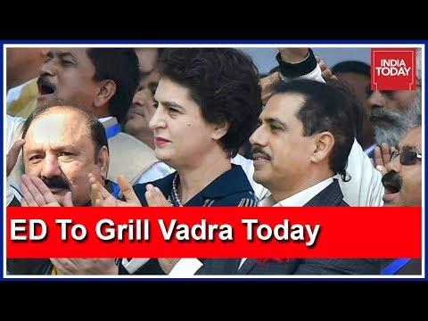 ED To Grill Robert Vadra In Jaipur, Priyanka Gandhi To Join Him After Roadshow