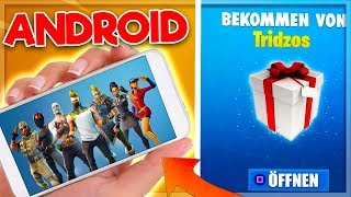 At last! Fortnite on ANDROID Date & Gifts with Free Skins|| Fortnite Battle Royale