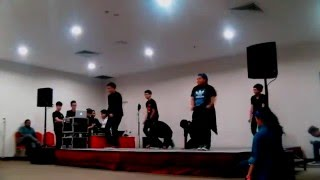 This Video Previously Contained A Copyrighted Audio Track. Due To A Claim By A Copyright Holder, The Audio Track Has Been Muted.     G-squad Performs At A Bed Making Competition In Ite College West