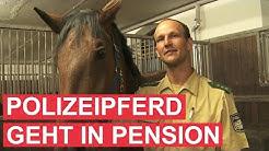 Gut Aiderbichl: Bewegender Abschied von Polizeipferd Zenit