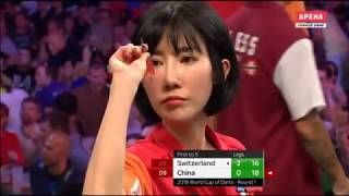2018 World Cup of Darts Round 1 Switzerland vs China