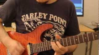 Fusion Licks Guitar Lesson #7: two Hybrid Picking Ideas by Martin Miller