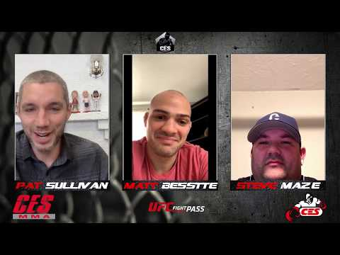 CES Podcast Episode #1: Matt Bessette Breaks Down Fights and Talks Life In Quarantine