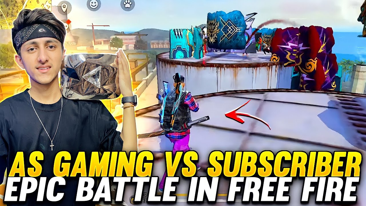 Download As Gaming Playing Squad VS Squad With Girl And Friends Epic Battle In Garena Free Fire 🔥🔥