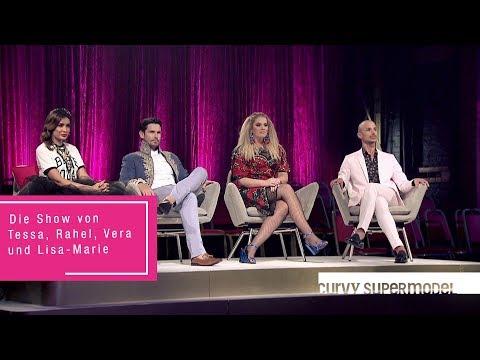 Curvy Supermodel - Die Show von Tessa, Rahel, Vera und Lisa-Marie - RTL II