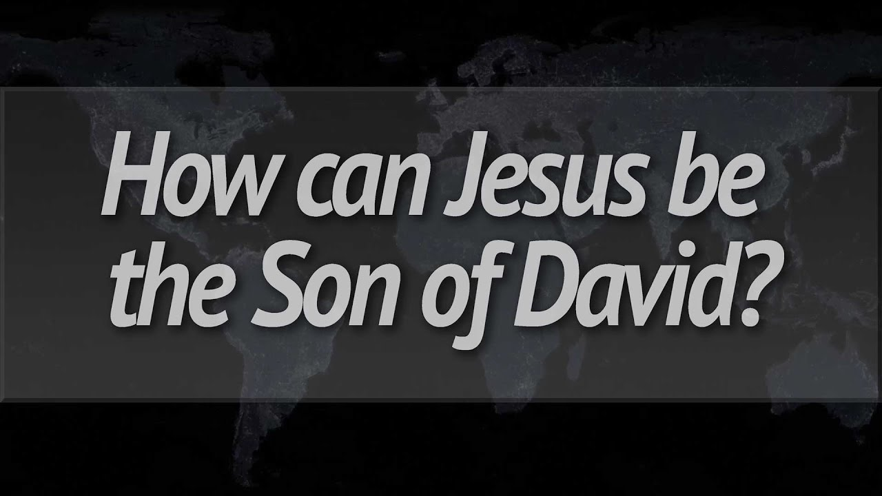 Image result for jesus son of david