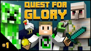 """NEW SERIES** Quest For Glory EP1 - """"Bad at Comprehension"""""""
