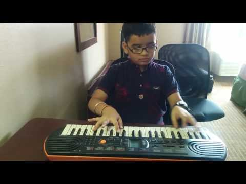 Main Tera Hero Song On Piano