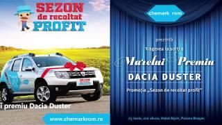 LIVE - Tragere la sorti - marele premiu Dacia Duster thumbnail
