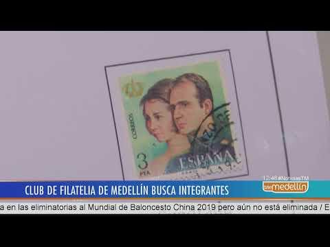 Clufime, el club de Filatelia de Medellín, convierten estampillas en enciclopedias - Telemedellín