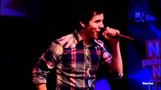 David Archuleta - The Other Side Of Down -  Live in Singapore [HD]