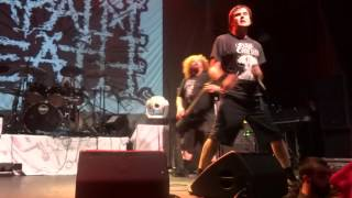 Napalm Death performing How The Years Condemn from the Apex Predato...