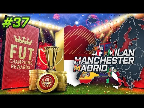 RED MONTHLY FUT CHAMPS REWARDS!!! MMM EP37