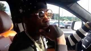 Kiari Cephus new SRT Jeep with Josh VIP Mooney