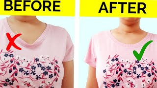 6 COOL DIY IDEAS GENIUS IDEAS TO UPGRADE YOUR OLD BORING CLOTHES T-SHIRTS JEANS COOL EASY LIFE HACKS