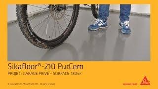 Comment faire un sol de garage en résine: Sikafloor-210 PurCem