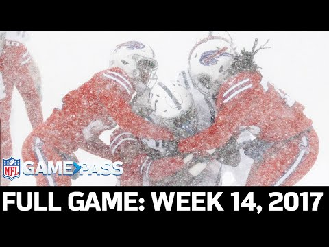 Indianapolis Colts vs. Buffalo Bills Week 14, 2017 FULL Game