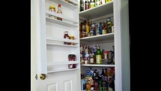How To Make A Pantry Door Spice Rack