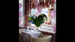 Идеи для свадебного декора(Идеи для оформления банкетного зала для свадьбы. Подробнее читайте на сайте