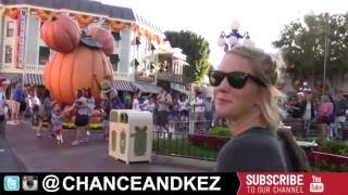 #HalloweenTime at @Disneyland @CHANCEANDKEZ #Vlog #Vloggers