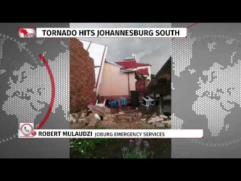 Tornado hits Johannesburg  South