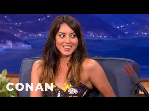 Aubrey Plaza On Her New Film 'Safety Not Guaranteed' - CONAN on TBS