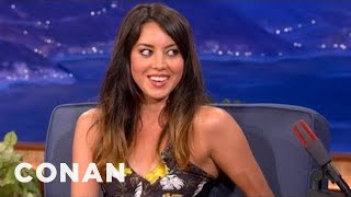 "Aubrey Plaza On Her New Film ""Safety Not Guaranteed"" - CONAN on TBS"