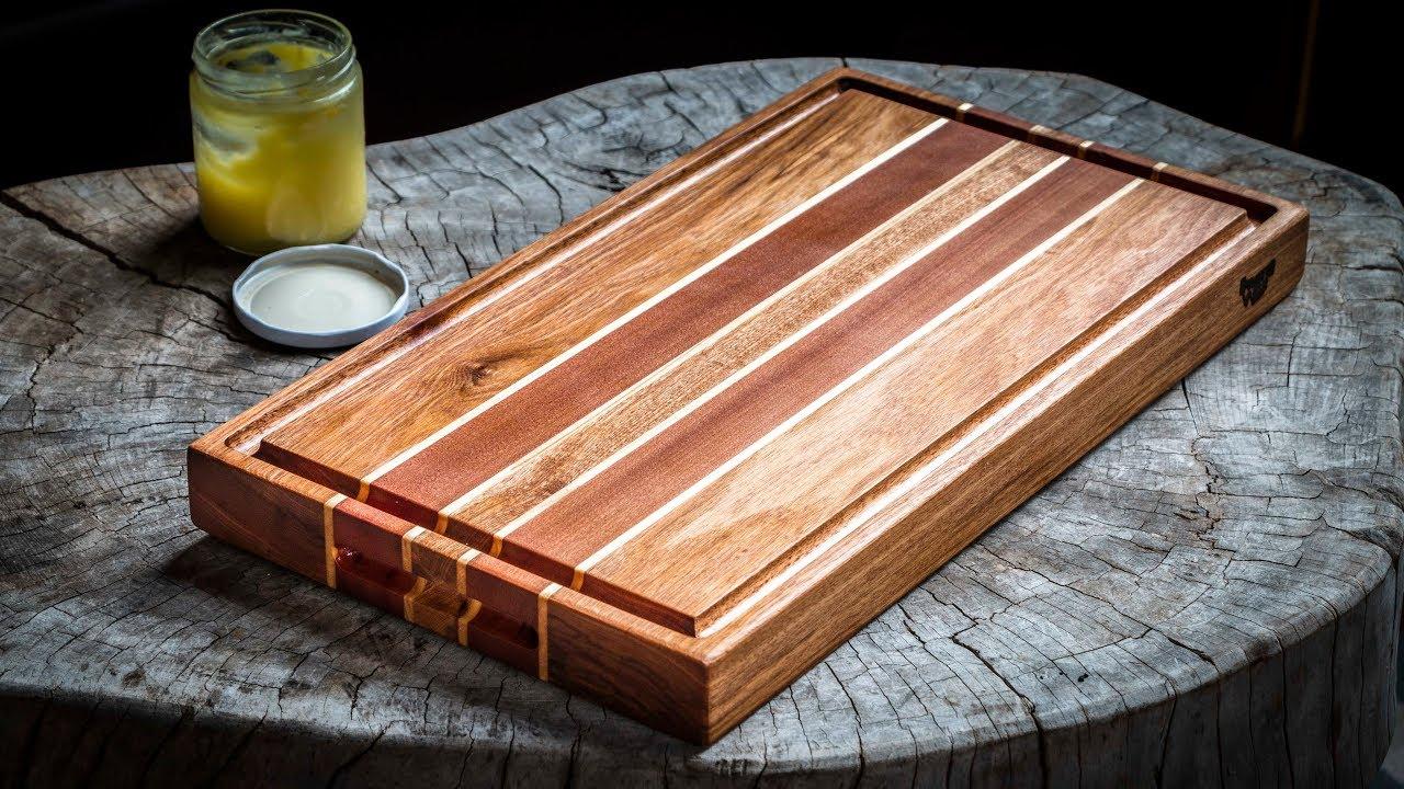 Tabla para los asados youtube for Como hacer una tabla para picar de madera