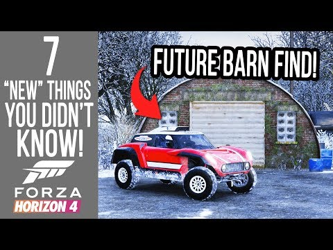"""Forza Horizon 4 - 7 """"Brand New"""" Glitches, Hidden Secrets & Easter Eggs You Didn't Know!"""