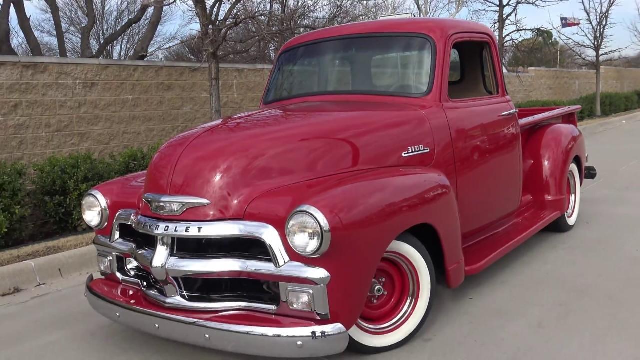 Sleeper 1954 Chevrolet 3100 Series 5 Window Teaser Youtube Pickup Truck