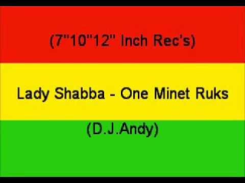Lady Shabba   One Minet Ruks   YouTube