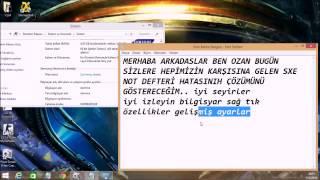 Cs 1 6 sXe Not Defteri Hatası %100 Çözüm