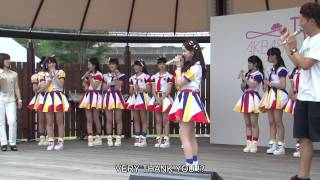 The moment when Maria SHIMIZU of AKB48 Team8, Japanese Idol Group, ...