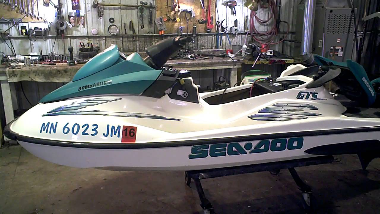 Lot 2240a 2001 Sea Doo Gts 717 720 Tear Down For Parts