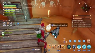 Search the area for traces of the lok monster - FORTNITE SAUVER THE WORLD