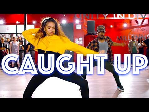 USHER  CAUGHT UP  JR TAYLOR CHOREOGRAPHY