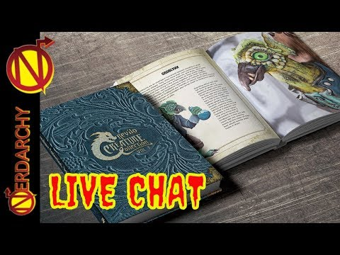 Creature Curation & Monster Making with Brian Colin- Nerdarchy Live Chat #195