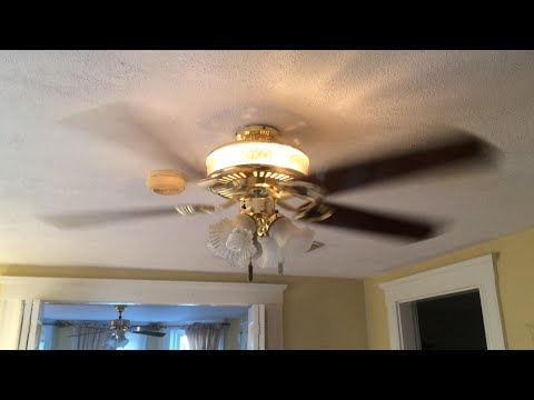 Encon lighted housing ceiling fan 52 youtube aloadofball Choice Image